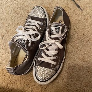 Converse bedazzled